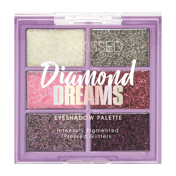 Sunkissed Diamond Dreams Glitter Palette