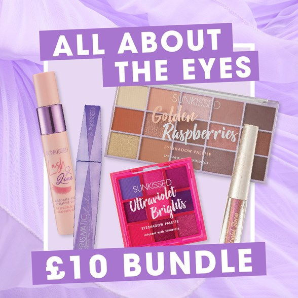 Sunkissed All About The Eyes Super Bundle