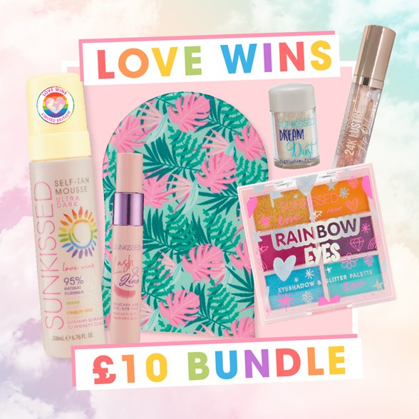 Sunkissed  Love Wins Ultra Glow Super Bundle