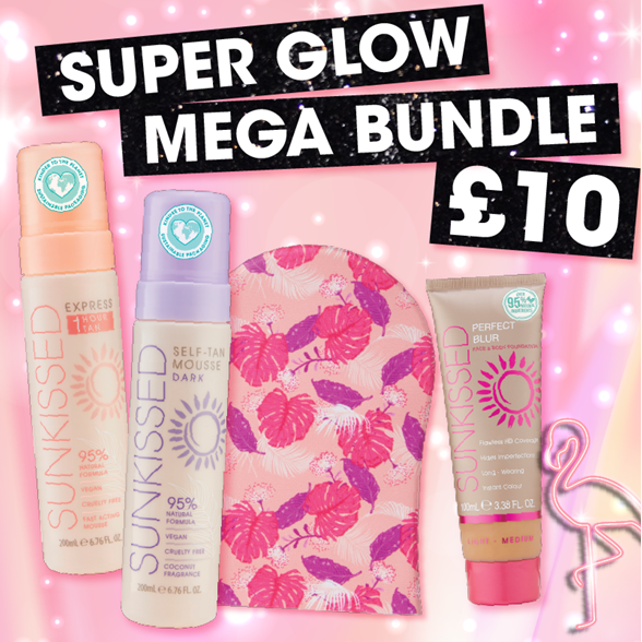 Sunkissed  Super Glow Mega Bundle