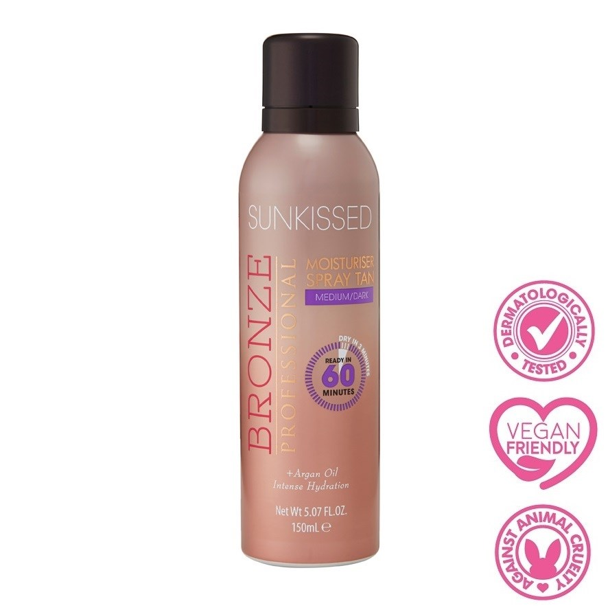 Bronze Professional Moisturiser Spray Tan Med/Dark