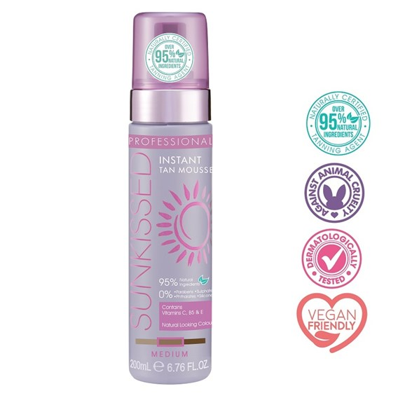 Professional Instant Tan Mousse Medium