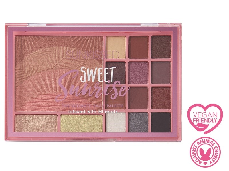 Sweet Sunrise Face Palette