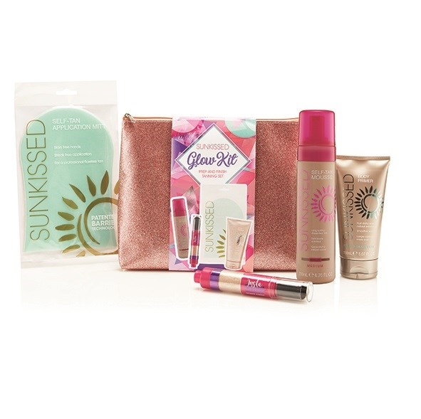 Glow Kit, Prep & Finish Tanning Set