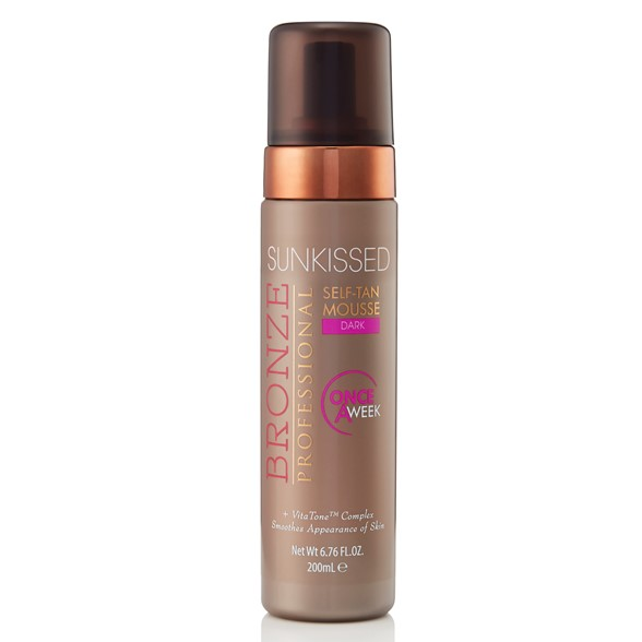 Bronze Professional Once-a-Week Self-tan Mousse Dark